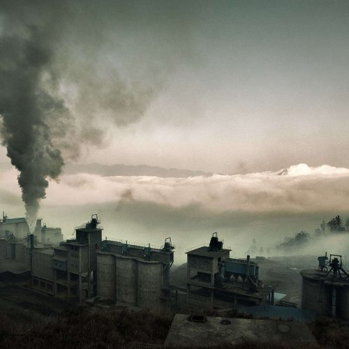 A cement factory in Wushan, Chongqing, China, December 3, 2012. Jonathan Kos-Read/Flickr CC BY 2.0