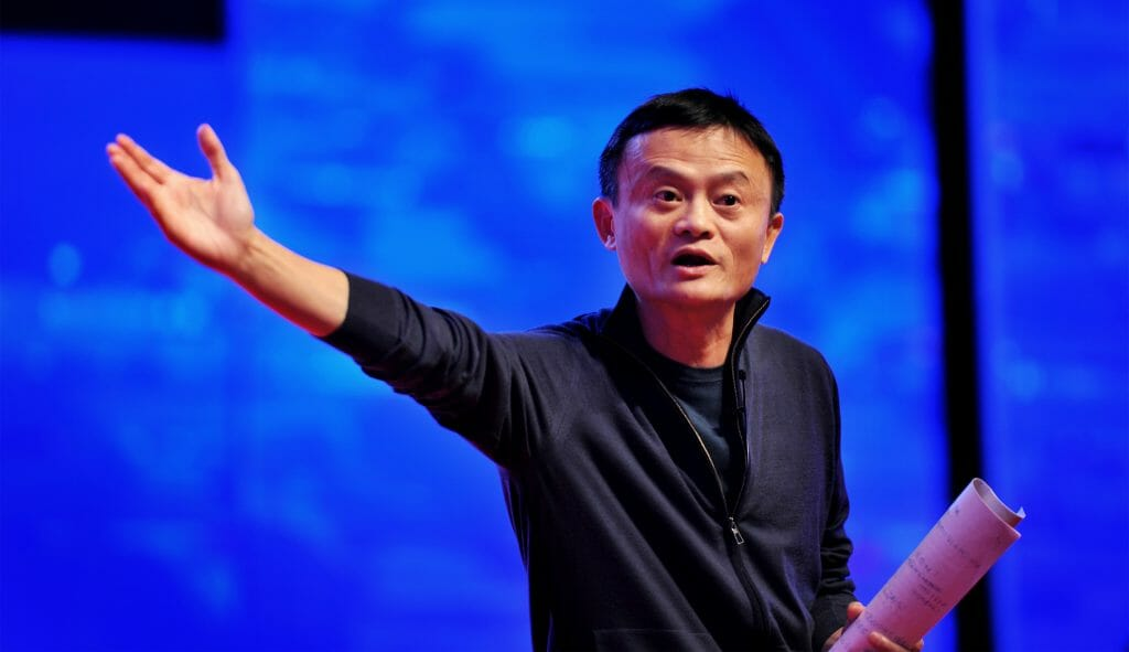 Jack Ma, founder and chairman of Alibaba. ChinaFotoPress