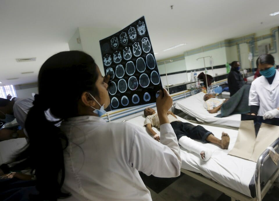 Medical tourism has helped many but doesn't solve global challenges in the healthcare. Adnan Abidi/Reuters